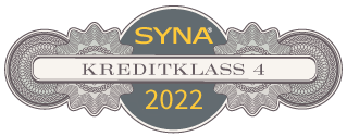 The seal is issued by AB Syna www.syna.se